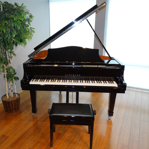 6'2″ GP188 Schumann Grand Piano