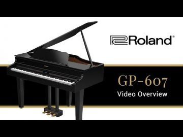 The GP607 Roland Digital Baby Grand Piano - What You Need to Know 2019